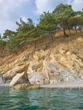 Sea and rocks Stock Photos