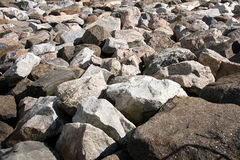 Sea of Rocks Stock Images