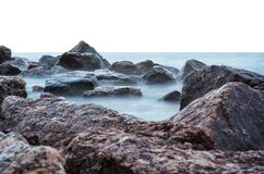 Sea and rocks  Royalty Free Stock Photography