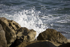 Sea and rocks Royalty Free Stock Image