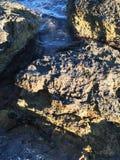 Sea rocks. Rocks by the sea - Island of Hvar Royalty Free Stock Photos