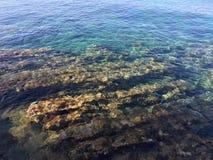Sea rocks. Rocks by the sea - Island of Hvar Stock Image