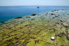 Sea rocks stock photos