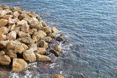 Sea and rocks Royalty Free Stock Images