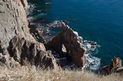 Sea and rocks, seashore Royalty Free Stock Images