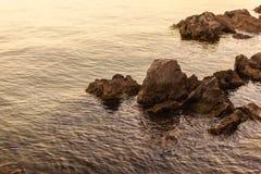 Sea rocks Royalty Free Stock Photography