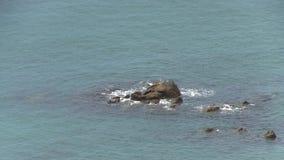 Sea rocks stock video