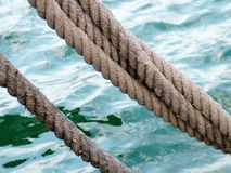 Sea ropes Royalty Free Stock Photo