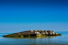 Sea ruin Royalty Free Stock Photography
