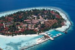 Sea's island Royalty Free Stock Image