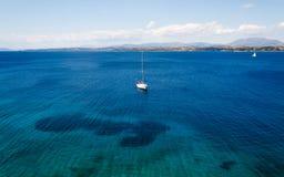 Sea sailing boat Stock Photo