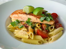 Sea-salmon filet Stock Images