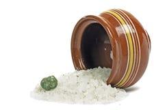 Sea salt Royalty Free Stock Photos