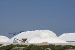 Sea Salt. From the salinas in Santa Pola, Spain Royalty Free Stock Photography