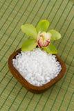 Sea salt for a bath Stock Photos