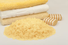 Sea salt for bathing Royalty Free Stock Image