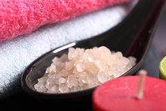 Sea salt Royalty Free Stock Photos