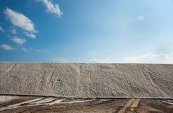 Sea salt in Bulgaria Royalty Free Stock Photo