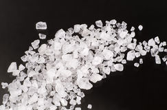 Sea salt crystals Royalty Free Stock Image