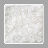 Sea salt crystals in a bowl Royalty Free Stock Image