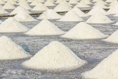 Sea salt farm Stock Photos