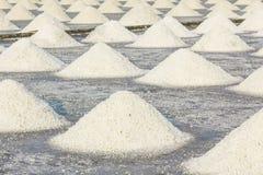 Sea salt farm Stock Photos