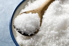 Sea Salt Flakes royalty free stock photography