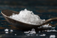 Sea Salt Flakes stock photo