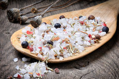 Sea salt mix Stock Image