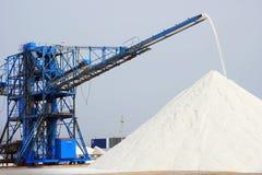 Sea salt mountain Royalty Free Stock Image