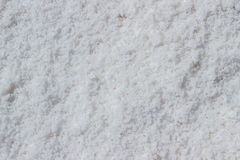 Sea salt at salt marsh Stock Images