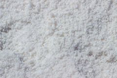 Sea salt at salt marsh Royalty Free Stock Images