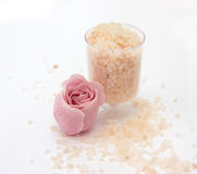 Sea salt and soap Royalty Free Stock Photo