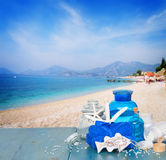 Sea salt spa Stock Image