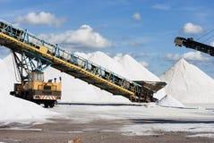 Sea Salt Works Stock Photos