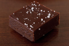 Sea salted caramels Stock Image