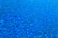 Sea salty water blue in pool. Background Stock Images