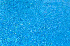 Sea salty water blue in pool Stock Photos