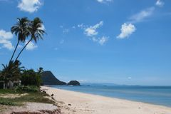Sea san sun. Beach in southern of thailand Stock Photos
