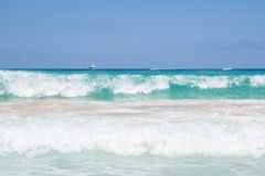 Sea in San Vito Lo Capo beach Stock Photography