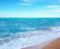 Sea and sand Stock Image