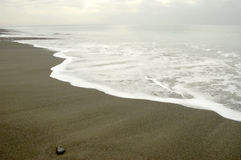 Sea and sand. Calm sea and sand Royalty Free Stock Photography