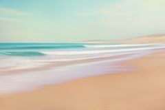 Sea and Sand Abstract Royalty Free Stock Photography