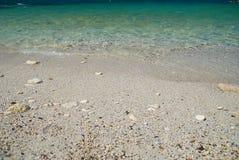 Sea sand beach Royalty Free Stock Photography
