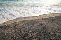 Sea sand beach Stock Photography