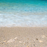 Sea sand beach Stock Images