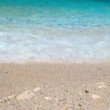Sea sand beach Stock Images