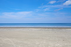 Sea sand beach Royalty Free Stock Image
