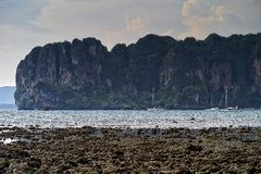 Sea. & sand beach in thailand, Island in thailand Stock Photography