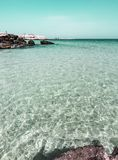 Sea and sand in Monopoli, Puglia - Italy royalty free stock images